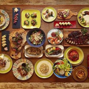 モダンアメリカ料理を提供。アメリカ研修では現地のレストランの食べ歩きも!