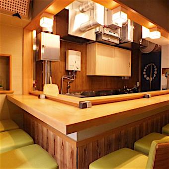 女性でも働きやすい環境作りに力を入れていて店内はいつも綺麗!まるで高級和食店の雰囲気♪