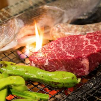 炭火焼は火加減命!調理技術や食材の知識が身につきます!