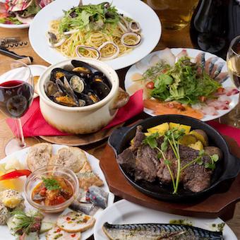 他にも鮮魚やお肉を使った様々な創作イタリアンを学べます!