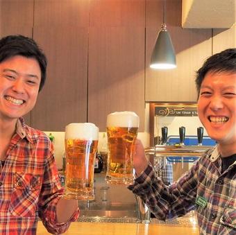 極上ビールと極上接客でお客様を喜ばせよう!☆少し頑張ってシフトインして精勤手当をもらおう♪