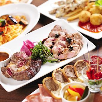ワインに合う小皿料理からステーキまで様々な料理を提供します!