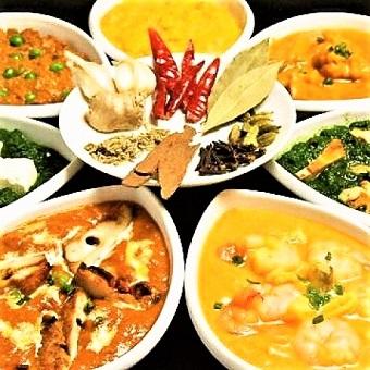 色んなスパイスを使うインド料理!異国の食文化に触れてみよう♪