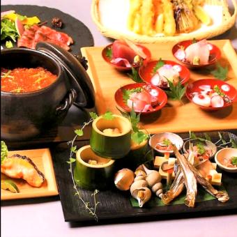 【利き酒師が居るお店】和心が織り成すマリアージュ☆和食と150種の日本酒を11段階の温度で楽しむ☆