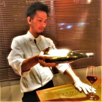 ワインについて勉強したい方も◎ソムリエの資格を持つスタッフが知識をつけてくれます♪
