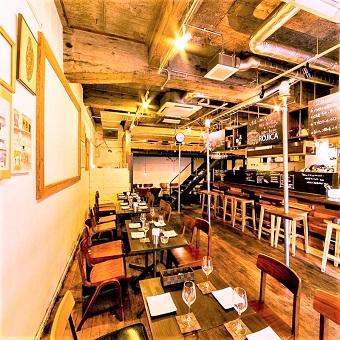 ◆撮影にも使われた店内◆隅田川近くのスパニッシュイタリアン♪開放的な空間でオシャレにお仕事?