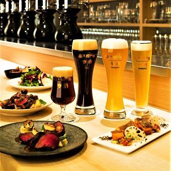 世界に認められた『富士桜高原麦酒』山梨県産食材を中心としたお料理を学びましょう♪