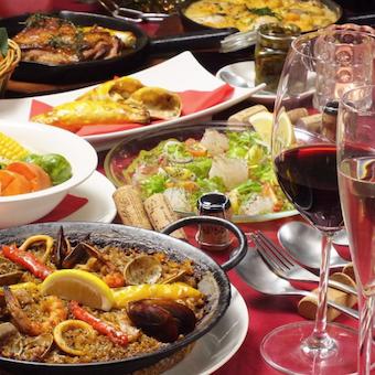 スペインの定番料理「パエージャ」他様々な料理を作りましょう!