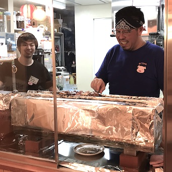 2018年5月オープン♪時給1100円◎新橋で人気の「やきとん」を上野で学べるキッチン☆