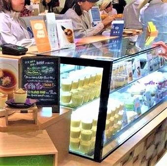 200年の歴史を持つ和菓子の伝統「船橋屋」が提案する新感覚スイーツのお店「こよみ」で販売のお仕事♪