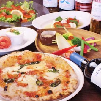 ☆時給1200★まかない最大2回◎イタリアンが大好きな方歓迎!お台場の本格ピッツェリアのキッチン♪