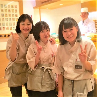 週の初勤務日は毎回お寿司のまかない☆ホールリーダー手当目指して働こう!【タダ飯クーポンあり】