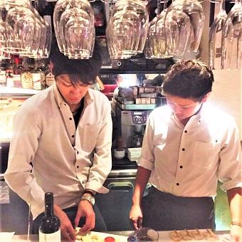 ★★時給1200円&駅近★★銀座の本格スペイン料理のキッチンスタッフ募集♪