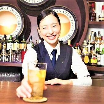 日本酒カクテル他様々なお酒を作るバーテンダー☆国内蒸留所見学やカクテルコンペもあり♪
