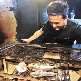 都内に複数の店舗を展開する『炭火焼 干物定食』のお店♪自慢の定食がまかないで食べられます◎
