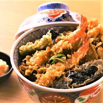 創業当時から継ぎ足されているタレが自慢の天丼!【タダ飯】で下見来店♪