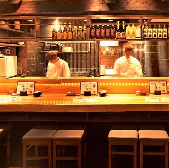 ☆時給1200円☆ひげ,ピアス,髪色も自由*名物『水炊き』が自慢の大人の居酒屋♪キッチンのお仕事!