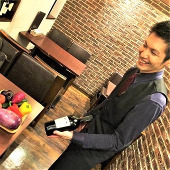 美味しいワインをお客様の好みに合わせて提供します!