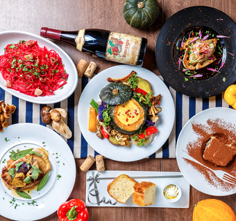 フリーター歓迎*有機野菜を使ったメニューが自慢のイタリアン♪幅広い技術をみにつけよう!
