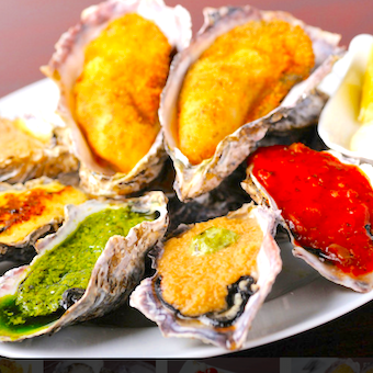 牡蠣を使った様々な調理も学べます!