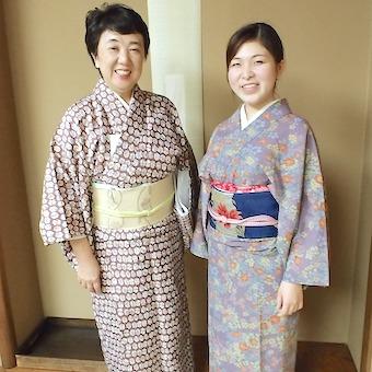 池波正太郎に愛された老舗和食店で着物でおもてなし。日本の伝統と老舗女将の立ち振る舞いを身に付ける