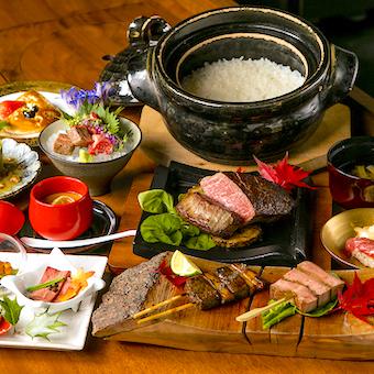 和食の技術を余すことなく身につけて、こんなコース料理を作れるようになりましょう!