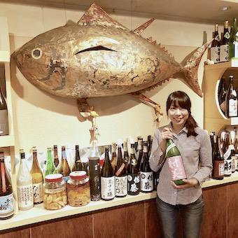 【個人店】赤坂No1の品揃え!年間500種類の日本酒が学べるまぐろ専門居酒屋でホールスタッフ♪