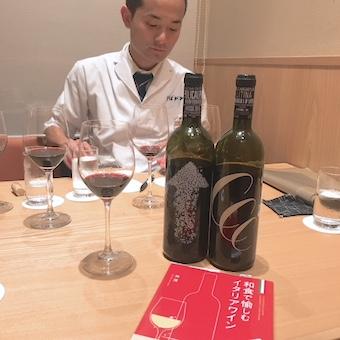 店長兼料理長の原田さんはソムリエの資格も!ワインの勉強は今でも欠かせません。