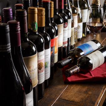 種類豊富なフルボディの赤ワインが自慢♪コスパいいのでお客さんにも進めやすいですよ☆