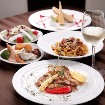 ブライダルや記念日など「スペシャルな日」を、本場イタリア料理でおもてなし♪