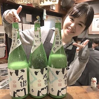 毎日仕事終わりに利き酒ができる!!日本酒大好きさん集まれ☆個人店居酒屋のホール♪