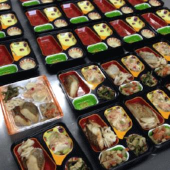 身体に優しいお弁当は面接時にもらうことができます!商品の味を知ってから働けますね♪