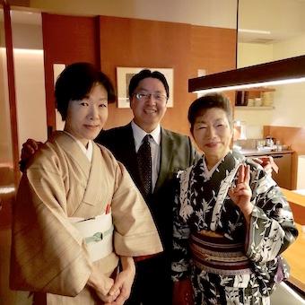 ハイクラスな方が集う高級日本料理店でおもてなし◎コースメニューの説明で日本料理にも詳しくなれる。