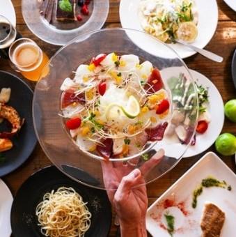 生産者や料理人さんだけでなく、お料理の提供方法にこだわるのもお料理をおいしくするエッセンス。