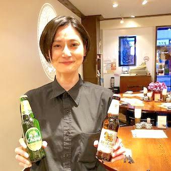 タイレストランならではの変わったビールや、その他飲料にも詳しくなれますよ♪