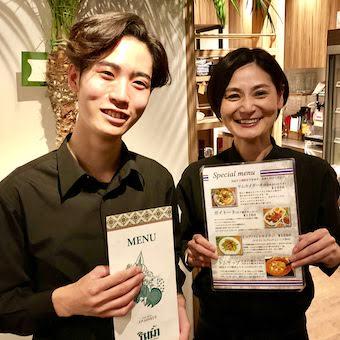 本格的な料理を提供している当店では、オーダーを通す際もタイ語を使います♪