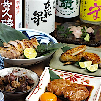 日本酒が自慢♪舌の肥えた大人が集う隠れ家居酒屋◎大山鶏と旬食材を使った丁寧な料理を学べる!