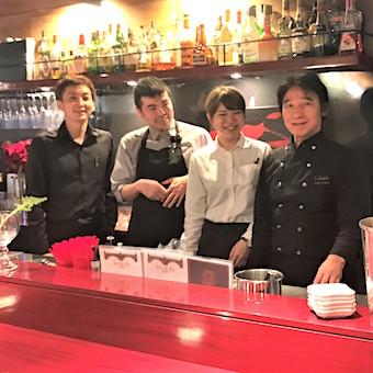 フレンチの鉄人プロデュース☆渋谷の隠れ家ビストロ◎活気ある店内☆絶品まかないを食べて良い接客♪