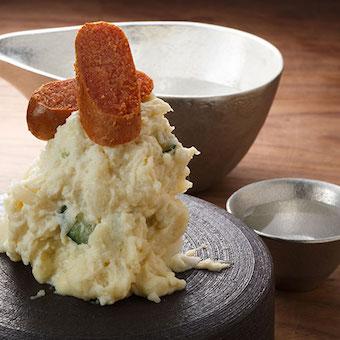 人気の燻製たらこのポテトサラダ。映える盛り付けも学ぼう!
