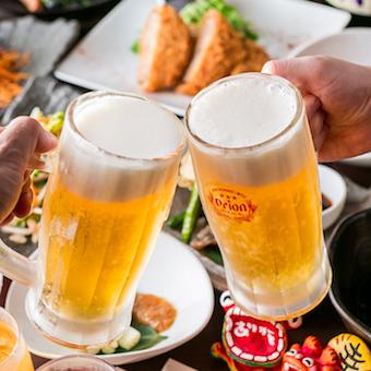 ビール・焼酎に加えて梅酒のラインナップが豊富!仕事終わりに試飲も◎