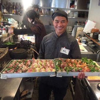 40種以上の串揚げをマスター♪まかないは自由に串揚げを食べれる☆アットホームな居酒屋で調理◎
