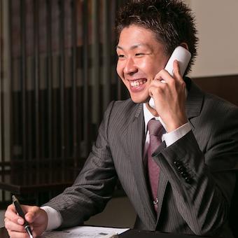 慣れてきたらお電話対応もお願いします。顔の見えない相手だからこそより丁寧に。