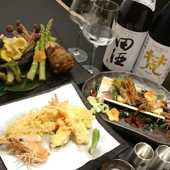 旬の野菜を使った天ぷらも絶品。お客様にお勧めできるともっと接客が楽しくなります!