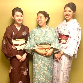 【時給1300円】落ち着いた日本料理店で和装勤務。着付けと丁寧な接客を学ぼう!職人のまかない無料♪
