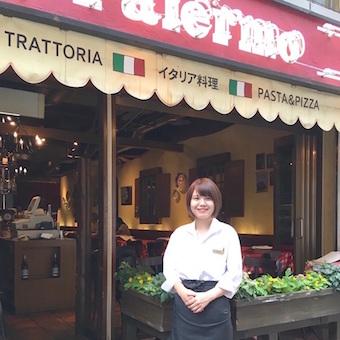 お客様の「おいしい」を、接客を通じて引き出すのが楽しいお仕事。赤坂見付駅そばの街角イタリアン。