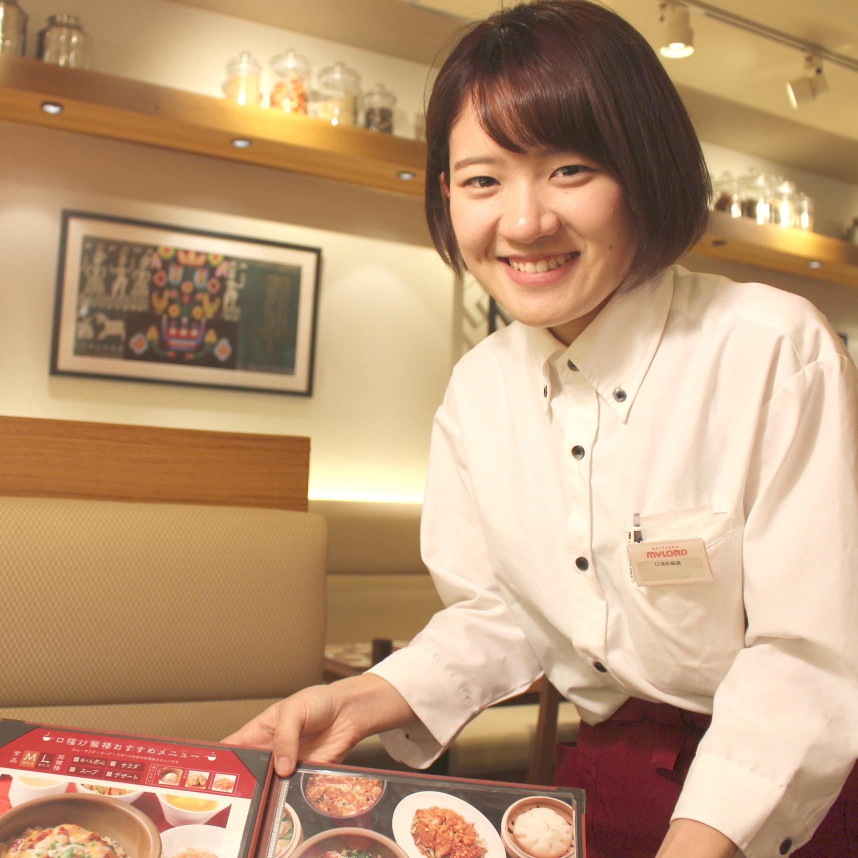 新宿駅直結だから雨でも通勤ラクラク♪オシャレな中華レストラン◎