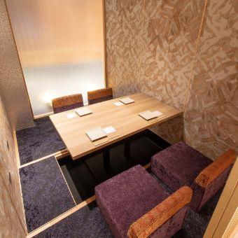 全席が個室なので落ち着いて、目の前のお客さんに集中できます!
