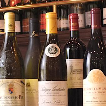 ワインセミナーもあるのでワインの知識も身につけられる!