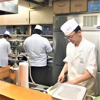 接客なし!無心に食器と向き合おう!四季折々の品を提供する日本料理店で洗い場のお仕事♪