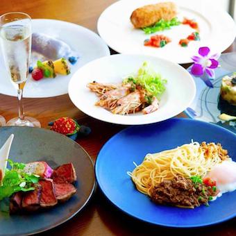 有名番組の舞台にもなったハワイアンリゾートレストラン♪日常も、特別な日も美味しい料理でおもてなし◎